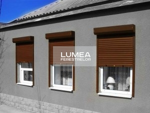 rulouri exterioare pentru ferestre PVC