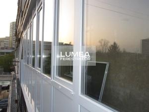 ferestre metaloplast si pvc pentru balcoane