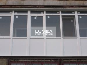 ferestre pentru balcoane PVC